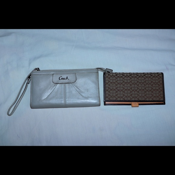 Coach Wallet & Card holder lot of 2